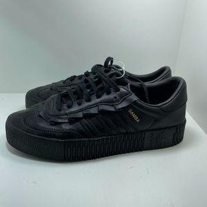 Gently used Adidas Ladies Original Samba shoes 7